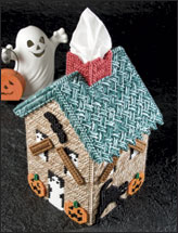 Spooky Cottage Tissue Topper