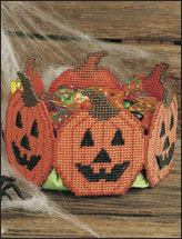 Jack-o'-Lantern Treat Basket