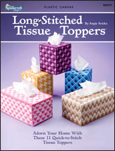 Long-Stitched Tissue Toppers
