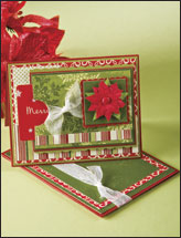 Poinsettia Gift Card & Envelope