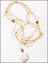 Golden Shores Necklace