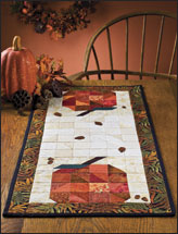Patchwork Pumpkins Runner