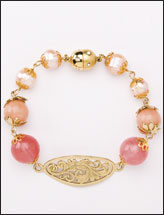 Just Peachy Bracelet