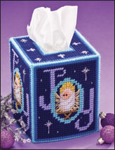 Christmas Joy Tissue Topper