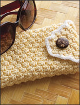 Basketweave Eyeglass Case