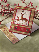 Reindeer Joy Card