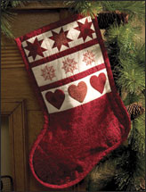 Sampler Christmas Stocking
