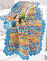 Happy Baby Blankie Knit Pattern