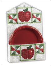 Apple-Time Plate & Towel Holders