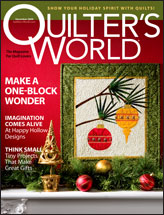 Quilter's World December 2009