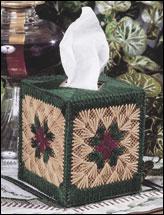 Granny Squares Tissue Topper