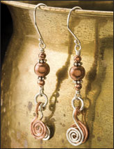 Copper Craze Earrings