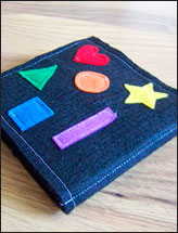 Colors 'n Shapes Felt Book