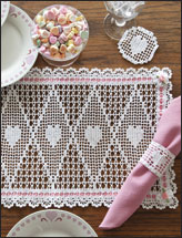 Valentine Place Mat Set