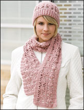 Romantic Lace Hat & Scarf