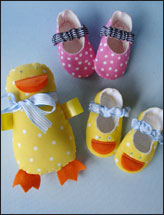 Duck Shoes Gift Set