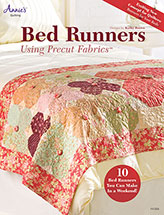 Bed Runners Using Precut Fabrics
