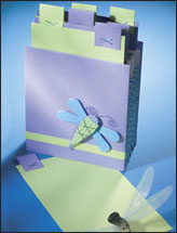 Dragonfly Accordion File
