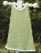 Lime Green A-Line Dress