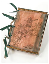 Gentian Canvas Art Book