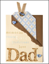Dad Tag Card