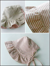 The Abigail Baby Bonnet