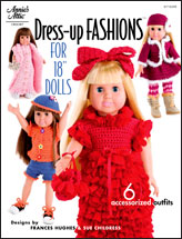 "Dress-Up Fashions for 18"" Dolls"