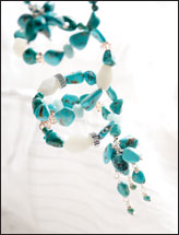 Amazonite & Turquoise Waterfall