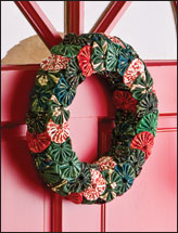 Yo-Yo Wreath