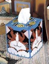 Dreaming Cat Tissue Box Cover