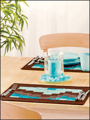 Land & Sea Bargello Place Mats