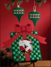 Holiday Frame & Ornament Set