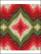 Christmas Ornament Bargello