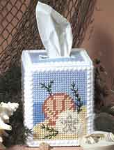 Seashell Tissue Cover