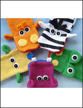 Wash Cloth Hand Puppets