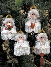 Mini Angel Ornaments