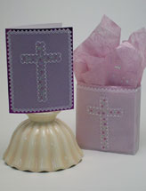 Regal Cross Card and Gift Bag