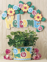 Floral Sign & Basket