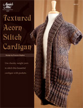Textured Acorn Stitch Cardigan