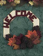 Pinecone Welcome Wreath
