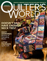 Quilter's World December 2011