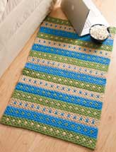 Dotted Stripes Rug