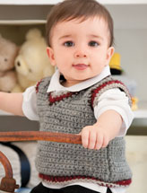 My Big Boy Vest Crochet Pattern