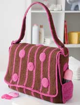 Polka-Dot Diaper Bag