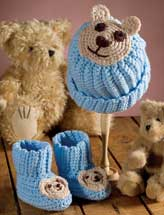 Teddy Bear Set Crochet Pattern