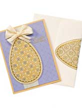 Embossed Easter Greetings