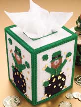 Leprechaun Tissue Cover