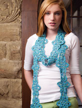 Flower-Chain Scarf