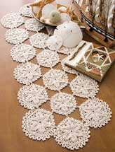 Sand Dollars Table Runner