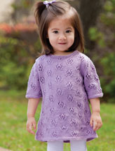Lacy A-Line Baby Dress